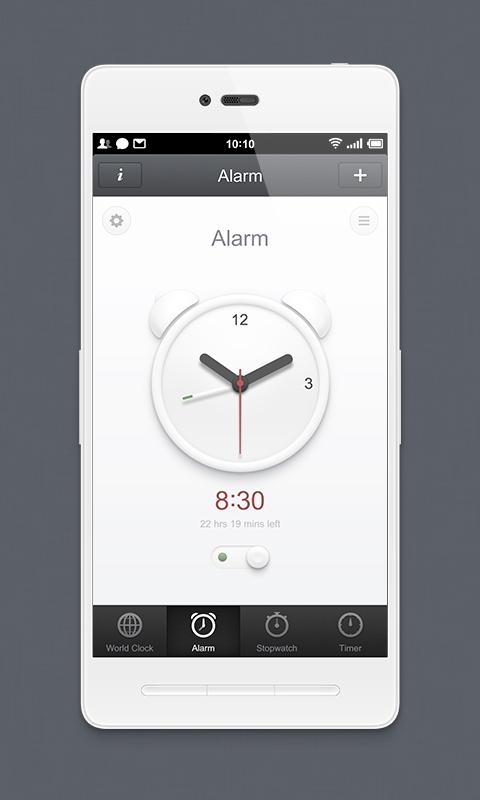 Smartisan Clock- screenshot