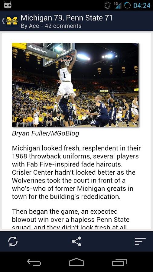 MGoBlog- screenshot