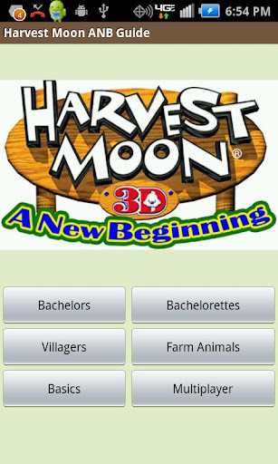 Harvest Moon ANB Guide-No Ads
