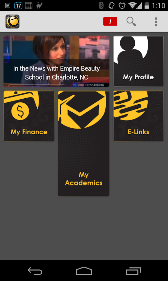 Empire Beauty School Mobile - screenshot