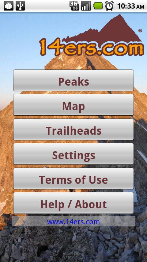 14ers.com- screenshot