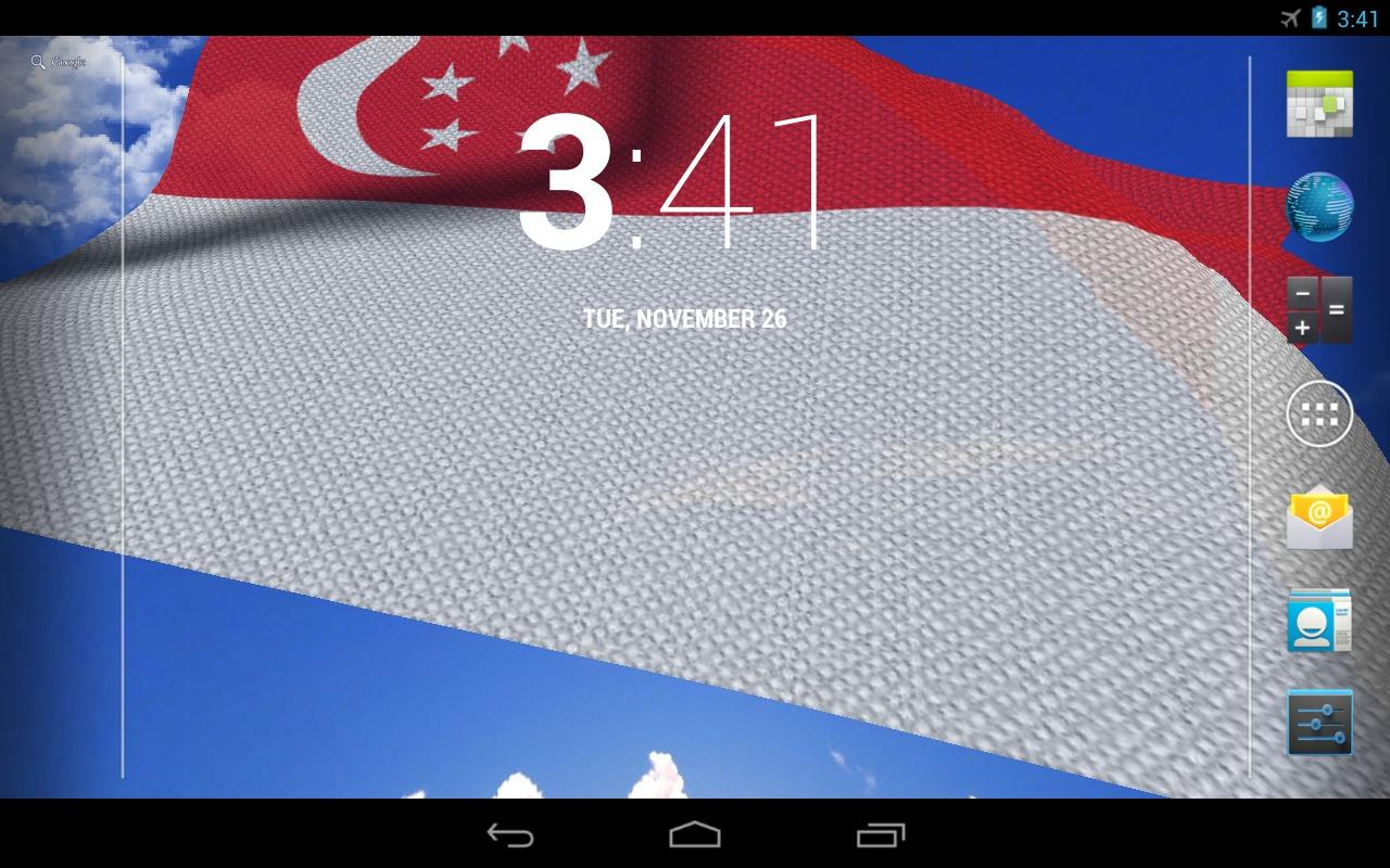 3d singapore flag android apps on google play for 3d wallpaper for home singapore