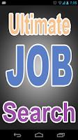 Screenshot of Ultimate Job Search