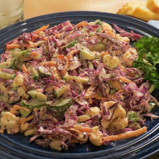 Red Cabbage Salad.