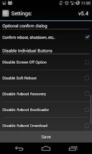 Reboot Menu Widget *ROOT*- screenshot thumbnail