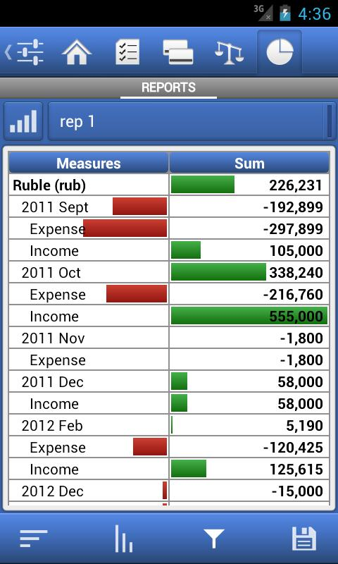 Expense Manager AdsFree- screenshot