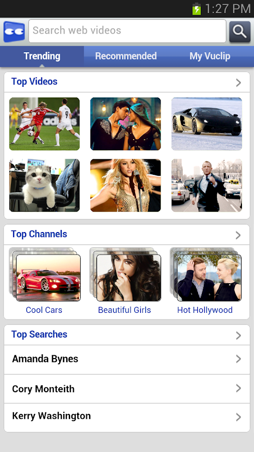 Access Vuclip Video - screenshot