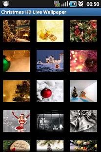 Christmas HD Live Wallpaper - screenshot thumbnail