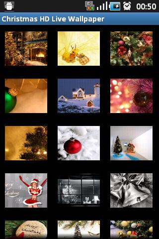 Christmas HD Live Wallpaper - screenshot