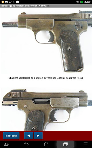 Pistolet FN 1900 expliqué