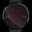 LED Dot Matrix HD Watch Face
