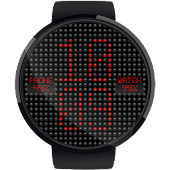 LED Dot Matrix HD Watch Face