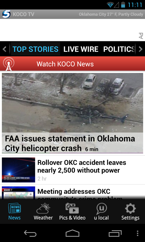 KOCO - news and weather - screenshot