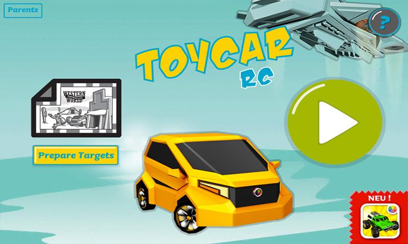 Toy Car RC- screenshot