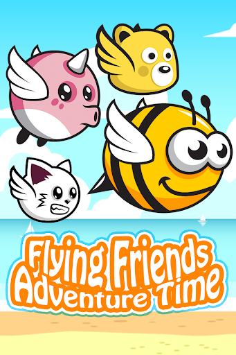Flying Friends Adventure Time