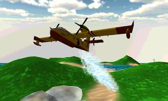 Screenshot of Airplane Firefighter 3D