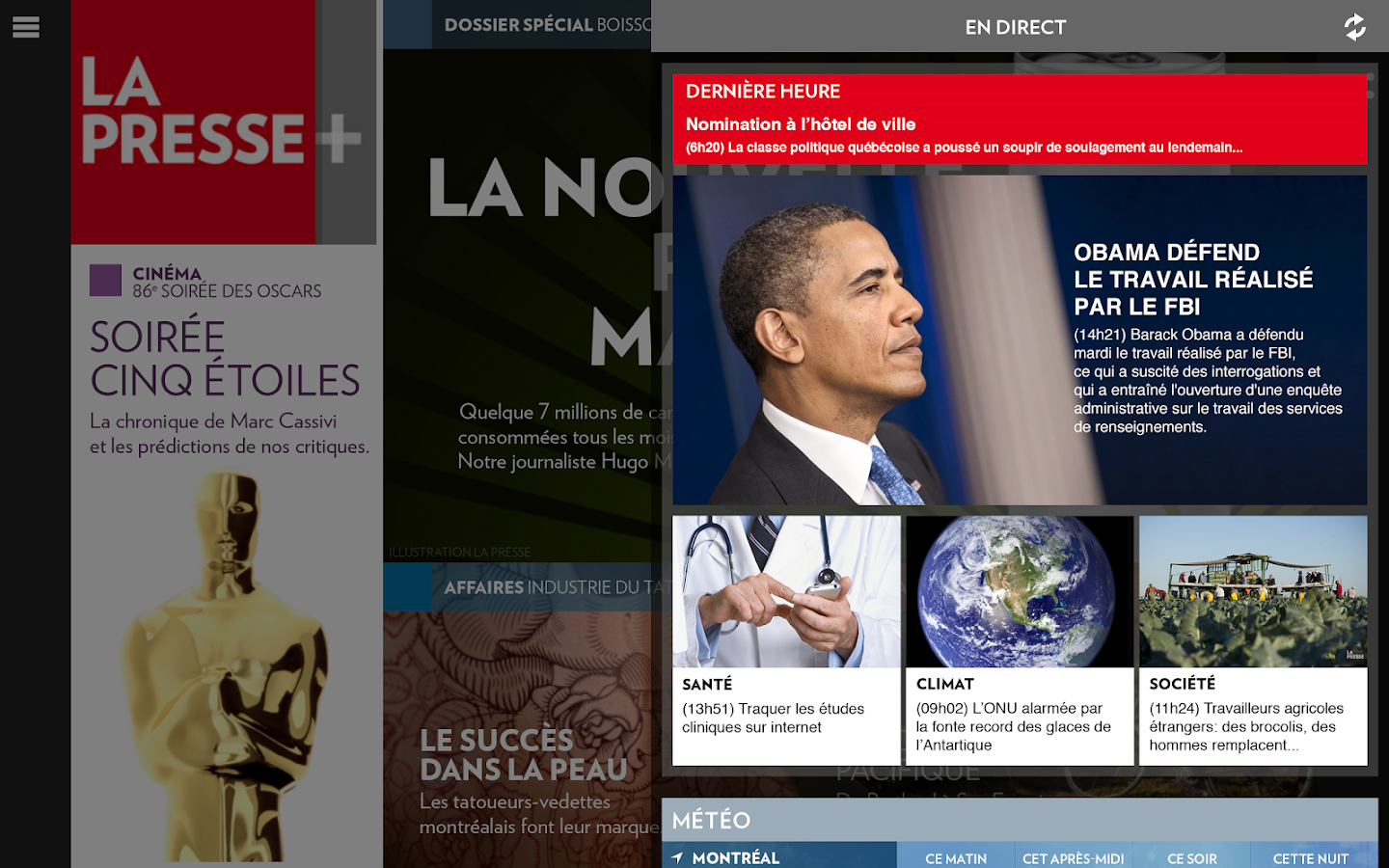 La Presse+- screenshot