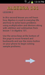 Algebra 102 APK screenshot thumbnail 1