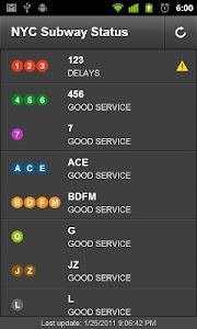 NYC Subway Service Checker screenshot 0