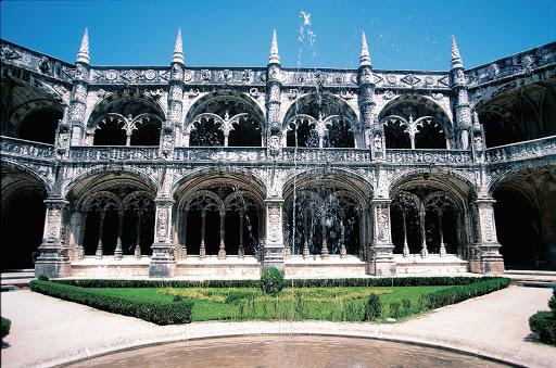 Jeronimos-Monastery-Lisbon-Portugal - The Jerónimos Monastery (or Hieronymites Monastery) in Lisbon.