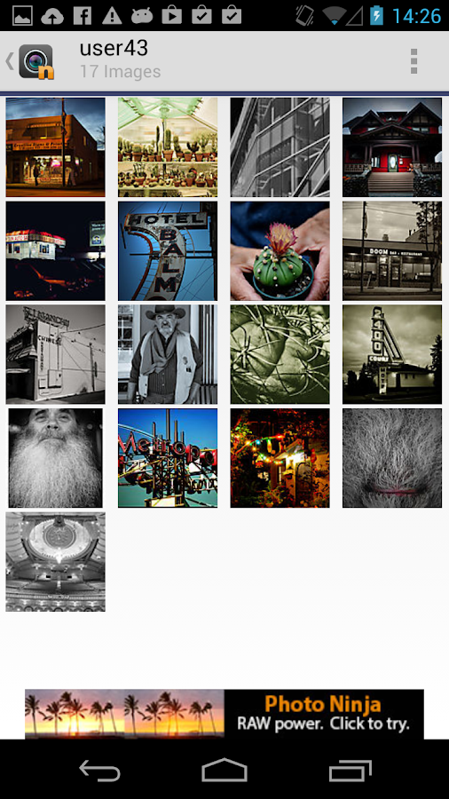 mGallery - screenshot