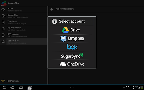 OfficeSuite 7 Pro (PDF&Fonts) - screenshot thumbnail