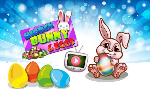 Easter Bunny Eggs Hidden Fun