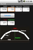 Screenshot of BayCalc