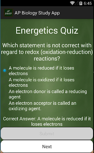 AP Biology Study App