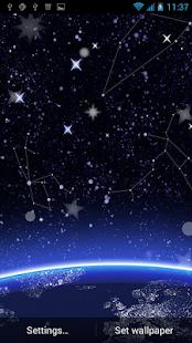 Hvězdy živé Tapety - náhled
