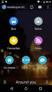 Washington DC Moves: Bus Metro- screenshot thumbnail
