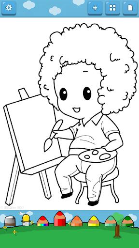 玩免費教育APP|下載孩子著色 ( 工作 ) app不用錢|硬是要APP