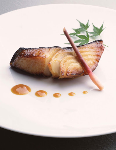 Culinary-Experiences-Nobu-Black-Cod-with-Miso-1 - You can't get seafood much fresher than Black Cod with Miso, a specialty aboard the Crystal Symphony.