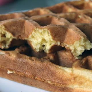 Basic Buttermilk Waffles.