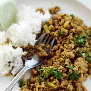 Nepalese Pork Mince Curry.