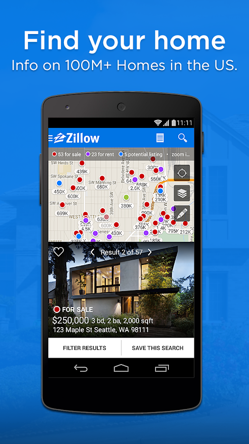 Zillow Real Estate Amp Rentals Screenshot