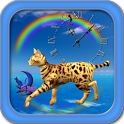 Cute Bengal Cat-Live Wallpaper icon
