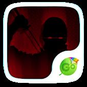 Shadow Ninja Keyboard Theme