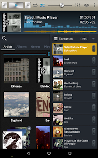 Select! Music Player Tablet- screenshot thumbnail