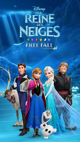 android La Reine des Neiges Free Fall Screenshot 21