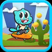 Gumball Skater Game