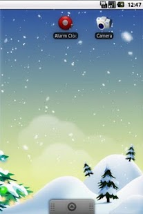 Winter Snowfall FREE Wallpaper - screenshot thumbnail