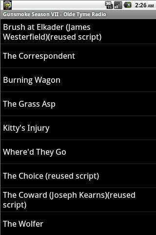 音樂必備APP下載|Gunsmoke OTR Season VII 好玩app不花錢|綠色工廠好玩App