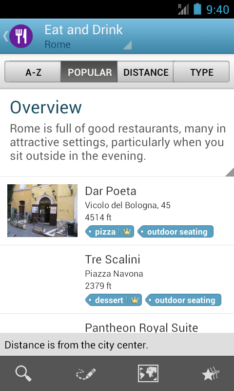 Rome Travel Guide by Triposo- screenshot
