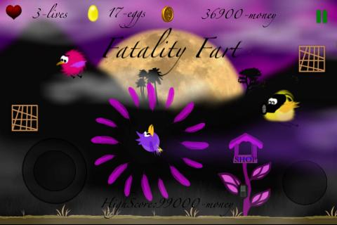Farting Birds - screenshot