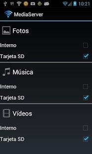 Media Server- screenshot thumbnail