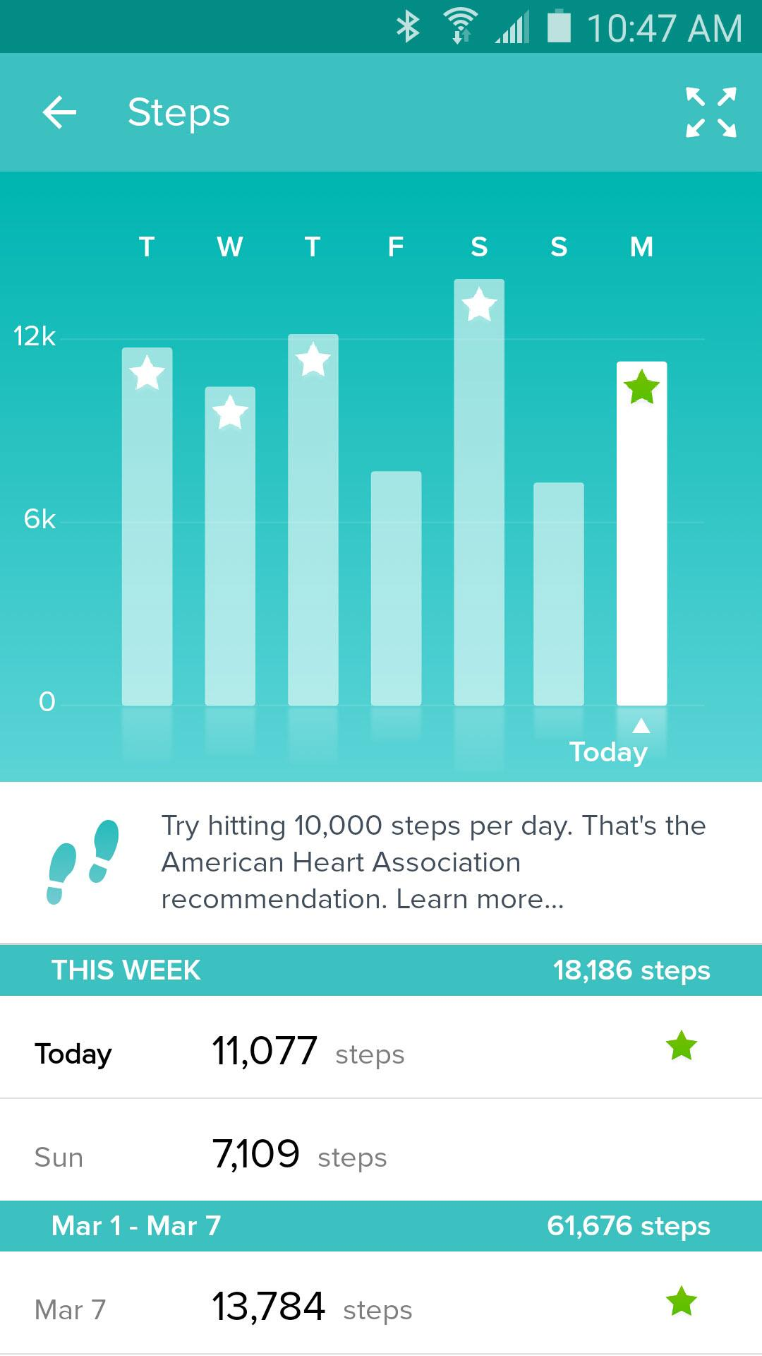 Fitbit screenshot #8