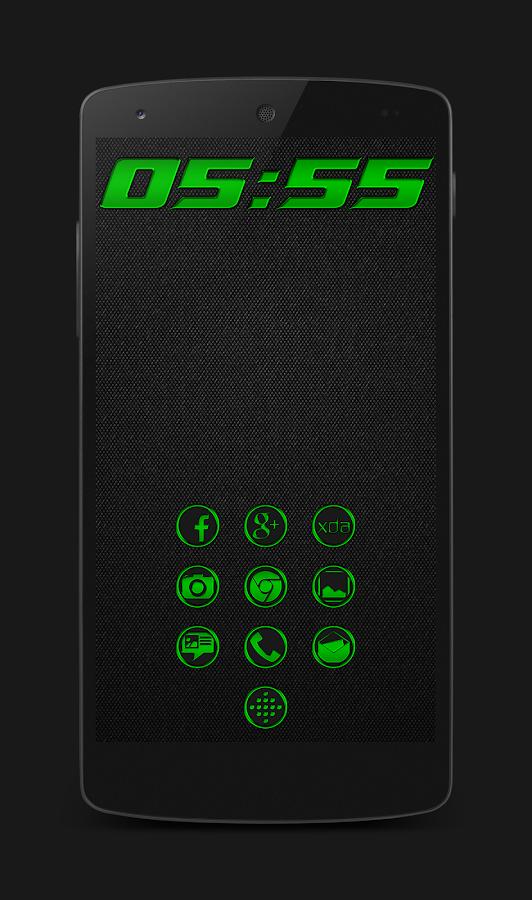 Chrom'd Green v1.1.3.0