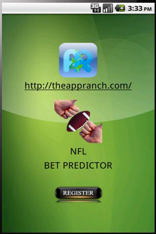 NFL Bet Predictor - screenshot