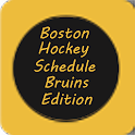 Boston Hockey Schedule Bruins logo